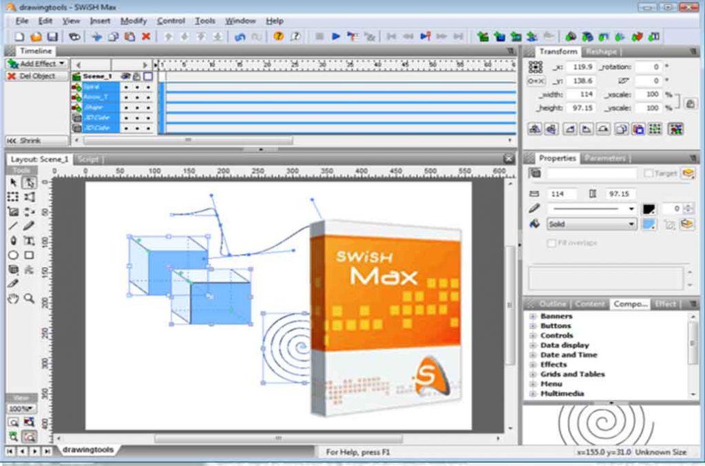 کارگاه انیمیشن سازی با SWiSH Max توسط استاد رحیم کریمی